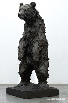 From the moment I stood eye to eye with one of Nicola Hicks' minotaur sculptures, she instantly became of my favorite sculptors but few pe. Bear Art, Pottery Sculpture, Sculptures, Animal Art, Artist At Work, Plaster Sculpture, Sculpture, Art, English Art