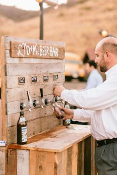 Guys and girls alike will love this beer bar.