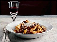 The best beef bolognese recipe.  I still have the original NY Times magazine with thise recipe.