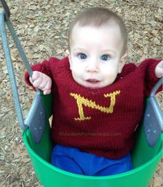 How To: Toddler Sweater with Initial