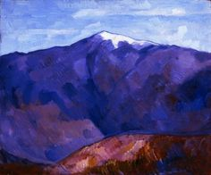 "White Top Mountain, New Hampshire"" by Marsden Hartley (1877-1943 ..."