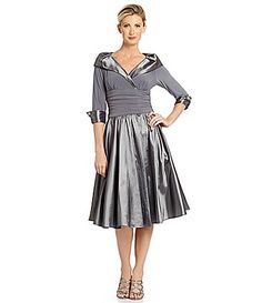 Jessica Howard PortraitCollar Party Dress #Dillards this comes in lots of colors and it is very flattering and a good price.  Bridesmaids and or mom of bridge