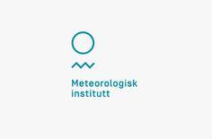 Meteorological Institute / Meteorologisk institutt logo and brand identity design by Neue