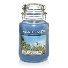 Blue Summer Sky : Large Jar Candles : Yankee Candle