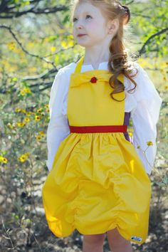 BELLE Beauty and the Beast Disney Princess por QueenElizabethAprons