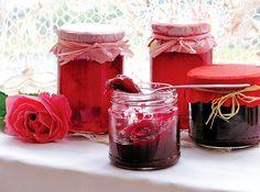Božský džem nebo i želé z okvětních lístků růže V60 Coffee, Pickles, Jelly, Alcoholic Drinks, Coffee Maker, Kitchen Appliances, Cooking, Tableware, Desserts