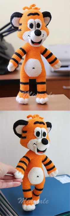 Tiger Amigurumi Tutorial