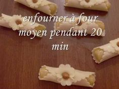 gâteaux (les doigts الصبيعات) - YouTube
