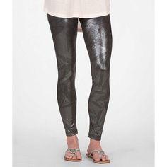 BKE Lounge Crease Legging featuring polyvore women's fashion clothing pants leggings white legging pants white leggings stretchy pants white trousers white stretch pants