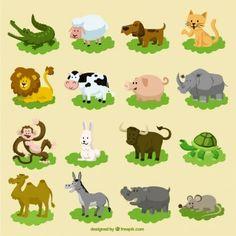 Serie di cartoni animati animali
