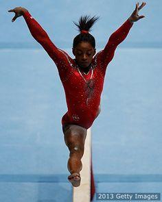 Simone Biles Crowned Gymnastics All-Around World Champion