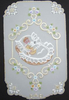 Parchment Cards - Baby - .Wendy Schultz ~ Baby Cards.