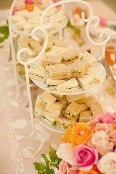 Southern Weddings Magazine - beautiful tea sandwiches