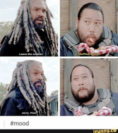 """Daaaaaaw! The Walking Dead Season 7 Episode 13 """"Bury Me Here."""" TWD S07 E13."""