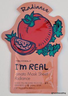 Tony Moly Im Real Sheet Mask Tomato Radiance