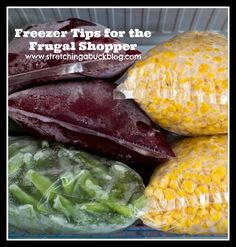 frugal living freezer tips | ConnerLawBoston.com #Frugal #Food #Budget