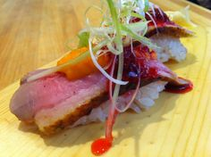 Seared Duck Breast with Peanut Butter and Jelly????? Why Not!!!