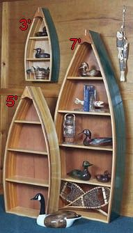 Master Boat Builder with 31 Years of Experience Finally Releases Archive Of 518 Illustrated, Step-By-Step Boat Plans Boat Bookcase, Bookcase Plans, Furniture Projects, Diy Furniture, Diy Projects, Canoe Shelf, Boot Regal, Moonrise Kingdom, Beach House Decor