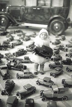 A promotional photo for the Auto Salon Berlin, 1930 by kitchener.lord, via Flickr