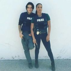 Cruz and Bailey; an unlikely but strong supporting characters~Lethal Weapon on FOX