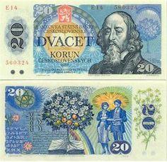 Czechoslovakia 20 Korun 1988 (J. tree of life)