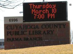 Cuyahoga county public library Parma branch