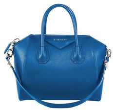 a5f6a32b92 Givenchy Antigona Small Leather Electric Blue Satchel. Save 22% on the Givenchy  Antigona Small. Tradesy