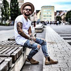 Macho Moda - Blog de Moda Masculina: Chapéu com Bota Masculina Combina? Dicas de Looks pra Inspirar!