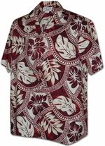 HTOOHTOOH Mens Hawaiian Beach Short Sleeve Pineapple Top Button Down Shirt