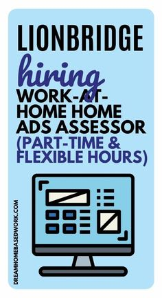 Need a flexible Part-Time work at home job?  Dream Home Based Work has a hot lead!  LionBridge is Hiring Work-at-Home Home Ads Assessors!  Here are all the details before you apply!  #hiring #jobs #workathome #parttime Jobs From Home Legit, Legitimate Work From Home, Work From Home Tips, Earn Money From Home, Earn Money Online, Online Jobs, How To Make Money, Extra Money Jobs, Internet Ads