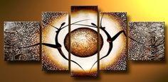 Barato 5108 pintado à mão 5 peça moderna pintura a óleo sobre tela de parede imagem para sala de estar casa de presente decora, Compro Qualidade Pintura & caligrafia diretamente de fornecedores da China:        Transformar suas fotos em belas pinturas sobre tela            Nós podemos personalizar o seu fim, retrato