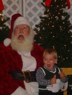 """Well, Santa has it down to a """"T""""!"""