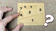 Cardboard Illusion Magic Tricks - How to Make Fun Magic Coffin Cardboard Small Wood Projects, Fun Projects, Magic Tricks Illusions, Diy Tech, Paper Magic, Everyday Hacks, Geometry Art, Woodworking Projects Diy, Wood Toys