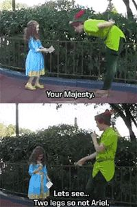 Further proof that Disney is the best place on Earth…