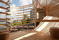 Wood wise hotel