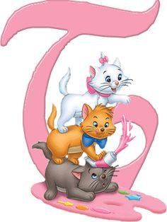 T Aristocats Alphabet (Oh My Alfabetos!)