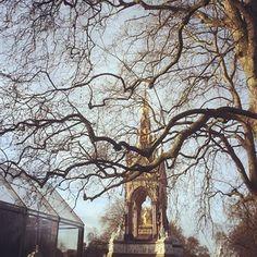 The Menswear Autumn/Winter 2014 show space in Kensington Gardens British Style, Fall Winter, Autumn, London, Landscape, Burberry, Menswear, Gardens, Outdoor