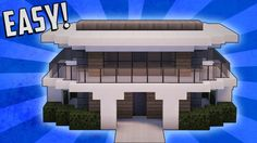 Minecraft: How To Build A Small Modern House Tutorial (#12)