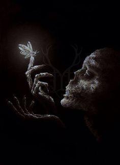 Skull Dark art ~Gothic Art