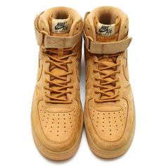 brand new ad1e7 db545 Nike Air Force 1 High 07 LV8 806403 200 Flax Outdoor Green Mens