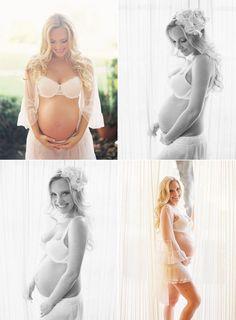 maternity boudoir - photos by Caroline Tran