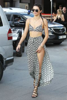 Kendall Jenner sports a gorgeous Python ensemble. Check out her other looks here:
