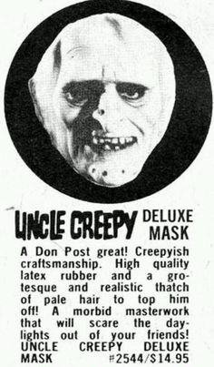 Uncle Creepy Deluxe Mask