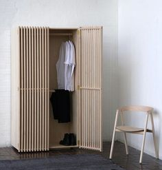 I posted a poor quality image of the 'Alignment' wardrobe by Joel Douglas and