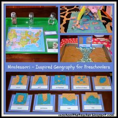 Intro to Geography - Landforms from Unschool the Teacher