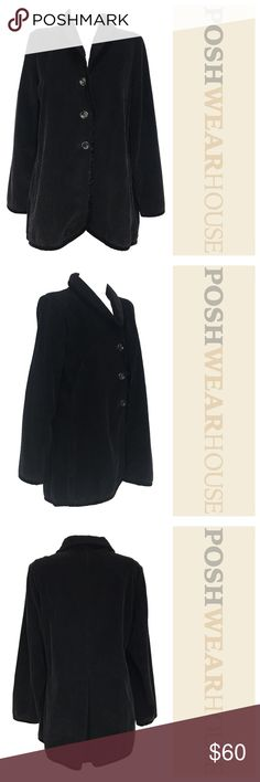 J.JILL Soft & Comfy Boxy Corduroy Jacket / Blazer Like new condition! • Very Soft • Can Fit up to a Large • Cotton w/ Rayon Trim • Buttons down the front. J. Jill Jackets & Coats Blazers