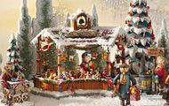 Weihnachtsartikel kaufen - Traditioneller deutscher Weihnachtsschmuck aus dem Hause Käthe Wohlfahrt