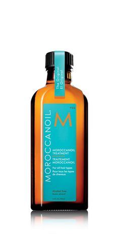 Moroccanoil® Treatment - my favorite oil to apply daily.  it still leaves the hair light, even with daily application.  great for sealing.