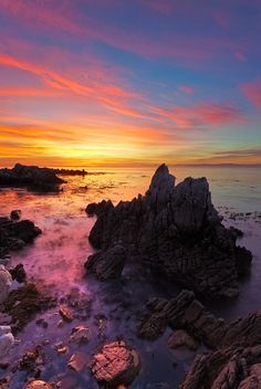 Sunset - Western Cape, South Africa