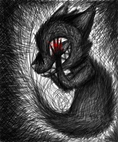 Creepy drawing